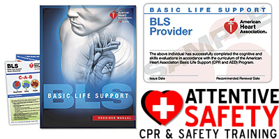 https://www.attentivesafety.com Basic Life Support BLS for Healthcare Providers