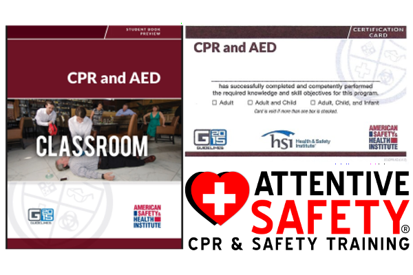 Attentive Safety CPR and Safety Training CPR AED