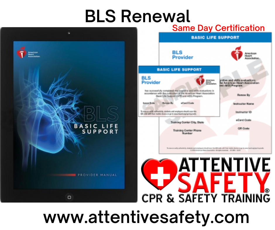 Attentive Safety BLS Renewal