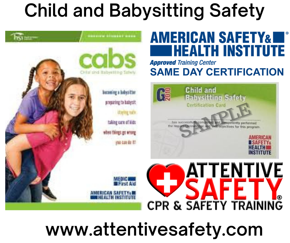 Attentive Safety Child and Babysitting Safety