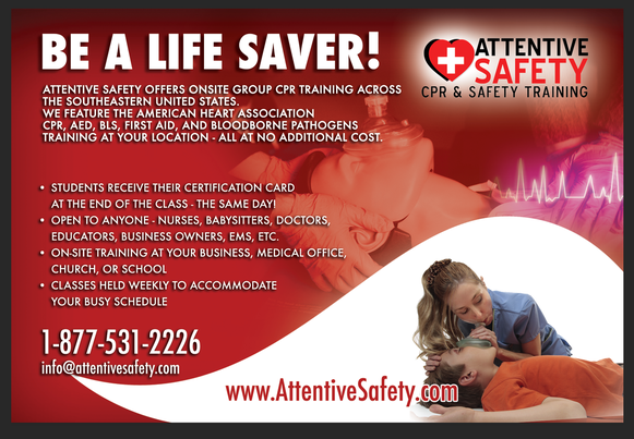 Attentive Safety CPR and Safety Training Franchise