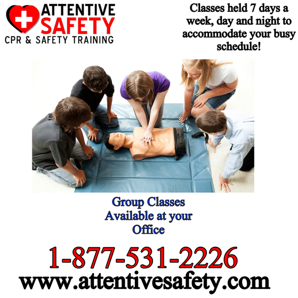 Attentive Safety CPR and Safety Trainin