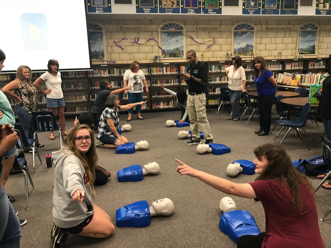 Attentive Safety CPR and Safety Training's Heartsaver CPR AED course is designed to prepare students to provide CPR and use an AED in a safe, timely, and effective manner.